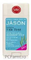 Deodorant Bio anti-bacterian cu Tea Tree - Jason