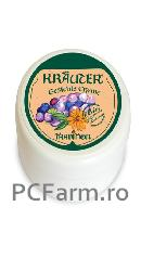 Crema hidratanta cu ulei din sambure de struguri si galbenele Bio Krauter