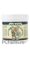 Crema pentru picioare cu uree si plante Bio Krauter