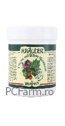 Crema pentru picioare cu vita de vie si plante Bio Krauter