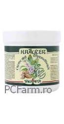 Crema pentru corp cu ulei de marmota si plante Bio Krauter