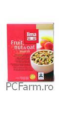 Musli cu fructe, alune si ovaz - Lima food