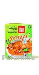 Supa (ecologica) de morcovi cu paste pentru copii - Lima food