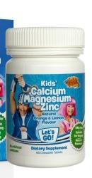 Calciu Magneziu Zinc LazyTown Kids - Lysi
