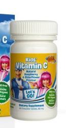Vitamina C LazyTown Kids – Lysi