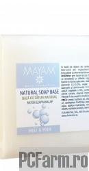 Baza de sapun melt si pour alb - Mayam