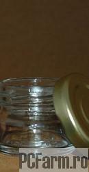 Borcan din sticla ZOIA cu capac metalic (30 ml) - Mayam