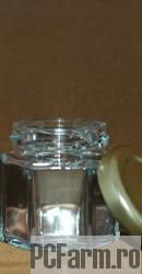 Borcan din sticla ZOIA cu capac metalic (50 ml) - Mayam