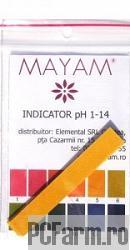 Hartie indicator PH 200 teste - Mayam