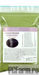 Colorant vegetal Henna Negru - Mayam
