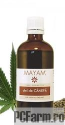 Ulei virgin de Canepa BIO - Mayam
