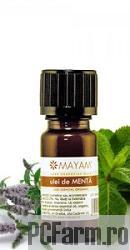 Ulei esential de Menta bio - Mayam