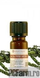 Ulei esential de Piper Negru bio - Mayam
