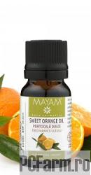 Ulei esential de Portocala dulce bio - Mayam