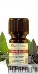 Ulei esential de Salvie bio 10 ml - Mayam