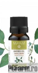 Ulei esential pur de Santal Amyris - Mayam