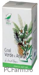 Ceai verde si Ananas - Medica
