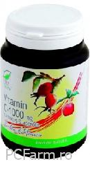 Vitamina C 1000 mg  - Maces si Acerola - Medica