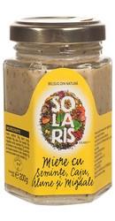 Miere cu seminte, caju, alune si migdale - Solaris