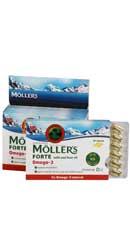 Omega 3 Forte cu ulei din ficat de cod - Moller s