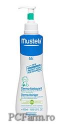 Dermo-Cleansing – Gel spumant fara sapun pentru par si corp -  Mustela