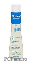 Sampon spuma pentru nou-nascuti – Mustela