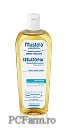 Stelatopia Ulei - lapte pentru baie, pentru pielea uscata cu tendinta atopica - Mustela