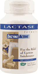 Lactase Enzyme Active - Nature s Way