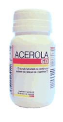 Acerola 60 capsule - Podkovicnik
