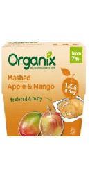 Piure bio de mere si mango -  Organix