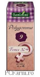 Polygemma 9 - Femei 50 + - PlantExtrakt