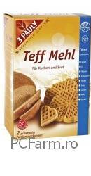 Faina de Teff  - Iarba Dragostei - fara gluten si lactoza - Pauly