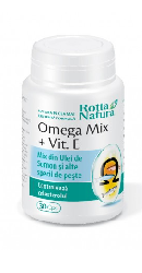Omega Mix  plus Vitamina E - Rotta Natura