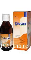 Sirop Zinco-C 15 mg - Berko Pharma