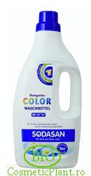 Detergent bio lichid din plante organice rufe color - Sodasan