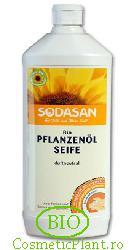 Detergent ecologic lichid universal din plante organice - Sodasan