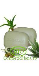 Sapun Bio Organic pentru Corp si Fata din Masline cu Aloe Vera - Sodasan