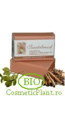 Sapun Bio pt. Fata si Corp din plante organice Santal - Sodasan