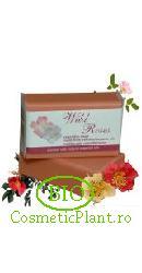 Sapun Bio pt. Fata si Corp din plante organice Trandafir Salbatic - Sodasan