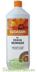 Solutie bio de curatare eficienta pe baza de otet organic - Sodasan