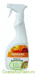 Solutie naturala ecologica de curatat geamuri - Sodasan
