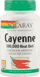 Cayenne - ardei iute - Solaray