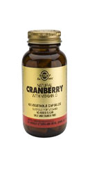 Cranberry Extract with Vitamin C - Solgar