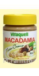 Crema Organica (Bio) de Nuci Macadamia - Vitaquell