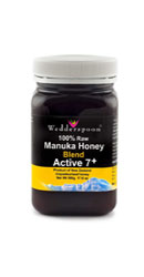 Miere de Manuka Activa 7+ RAW Mix 500g - Wedderspoon