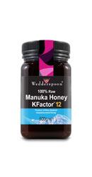Miere de Manuka KFactor 12 RAW 500g - Wedderspoon
