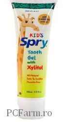 Gel ginvial pentru copii aroma originala SPRY